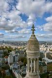 Ansicht über Paris, Frankreich lizenzfreies stockbild