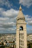 Ansicht über Paris, Frankreich stockfotos