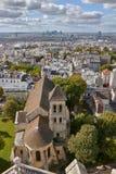 Ansicht über Paris, Frankreich stockfoto