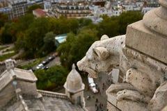 Ansicht über Paris, Frankreich stockfotografie