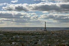 Ansicht über Paris, Frankreich lizenzfreie stockfotografie