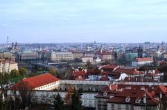 Ansicht über Prag Lizenzfreies Stockbild