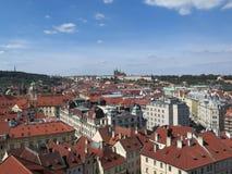 Ansicht über Prag, Tschechische Republik lizenzfreie stockfotos