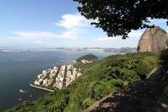 Ansicht über Rio de Janeiro Lizenzfreies Stockbild