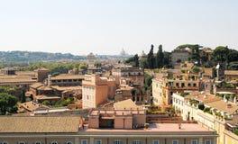 Ansicht über ROM (Skyline) Lizenzfreies Stockbild