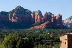 Ansicht über Sedona, Arizona, USA Lizenzfreies Stockbild