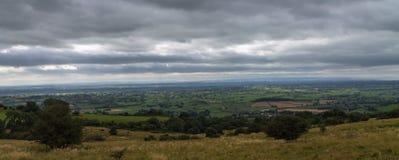 Ansicht über Somerset Lizenzfreie Stockfotos