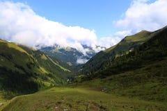 Ansicht über Tal stockbilder