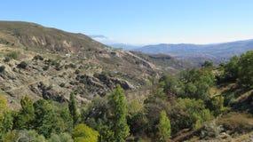 Ansicht über Tal Stockfotografie