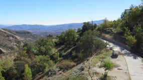 Ansicht über Tal Stockfoto