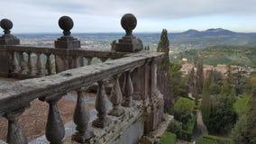 Ansicht über Tivoli vom Landhaus D& x27; Este lizenzfreie stockbilder