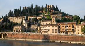 Ansicht über Verona Lizenzfreies Stockfoto