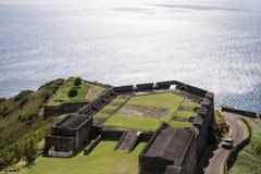 Ansicht über vom Fort stockbilder