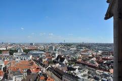 Ansicht über Wien, Österreich stockbild