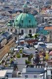 Ansicht über Wien, Österreich stockfoto
