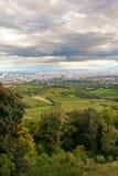 Ansicht über Wien Stockbild