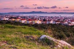 Ansicht über Zadar Stockbild