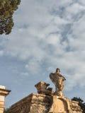 Ansicht Addolorata Cemeterys Lizenzfreie Stockbilder