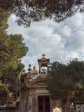 Ansicht Addolorata Cemeterys Stockbilder