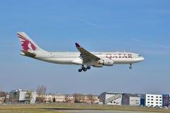 Ansicht Airbusses A330-200 Lizenzfreie Stockbilder