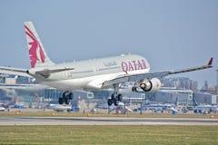 Ansicht Airbusses A330-200 Lizenzfreies Stockfoto