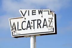 Ansicht Alcatraz Stockbild