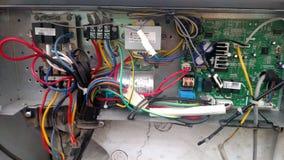 Ansicht als Elektroingenieur lizenzfreies stockbild