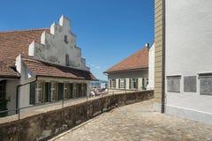 Ansicht in alte Stadt Thun Lizenzfreie Stockfotos