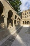 Ansicht alter Stadt Bakus, Hauptstadt von Aserbaidschan Lizenzfreies Stockfoto