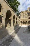 Ansicht alter Stadt Bakus, Hauptstadt von Aserbaidschan Stockfotografie