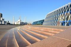 Ansicht in Astana stockbilder