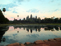 Ansicht bei Angkor Wat Lizenzfreie Stockfotografie
