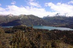 Ansicht bei Bariloche Stockfotos