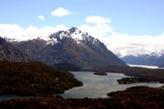Ansicht bei Bariloche Lizenzfreies Stockbild