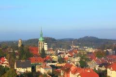 Ansicht bei Mirsk Stockfotos