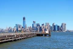 Ansicht bei New-Jersey Lizenzfreie Stockfotos