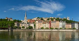 Ansicht bei Vieux Lyon Stockbilder