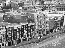 Ansicht über Amsterdam Lizenzfreie Stockfotografie