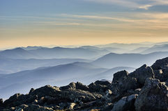 Ansicht am Berg Washington Stockfoto