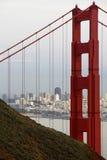 Ansicht Br5uckevon und von San Francisco Stockbild
