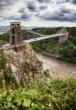 Ansicht an Bristol-Brücke lizenzfreie stockbilder