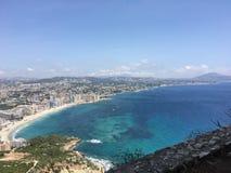 Ansicht Calpe-Felsen Stockfotos