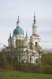 Ansicht Catherine Cathedrals Maifeiertag Kingisepp Stockfotografie