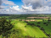 Ansicht Cheshire Countrysides Stockbilder