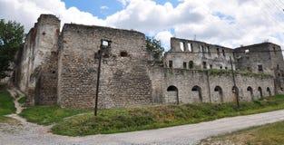 Ansicht Chortkiv-Schloss Lizenzfreie Stockfotos