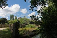 Ansicht, Cormery Loire Valley, Frankreich Lizenzfreie Stockfotografie