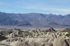 Ansicht in Death Valley Lizenzfreie Stockbilder
