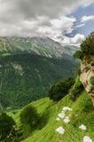 Ansicht an den Bergen in Spanien Lizenzfreies Stockfoto