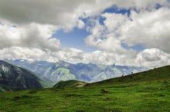 Ansicht an den Bergen in Spanien Stockfotografie