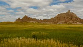 Ansicht der Ödländer in South Dakota Stockbild